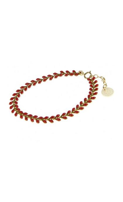 Blinckstar 1901A45 Cherry Red Fishbone