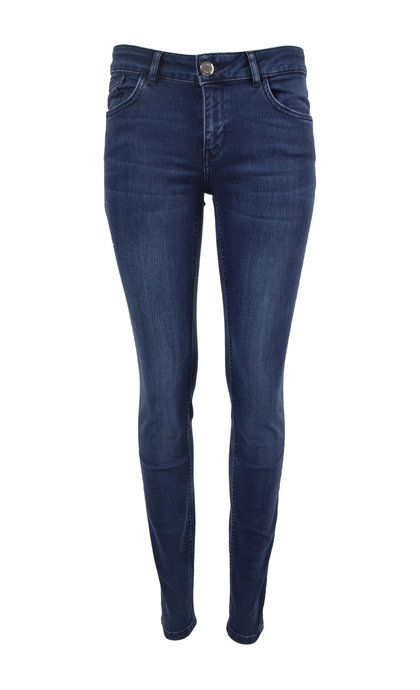 Mos Mosh Sumner Core Long Jeans 410 Blue Denim