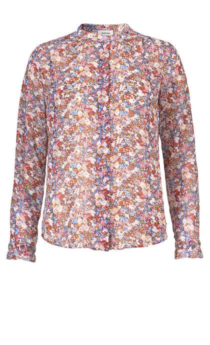 Modstrom Russel Print Shirt Bouquet