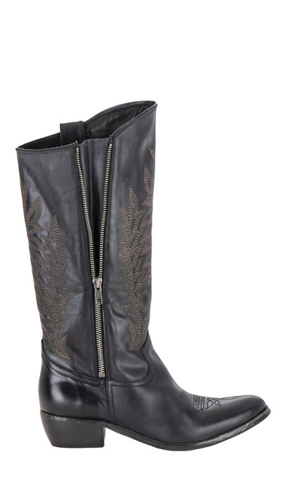Catarina Martins Bendita Leather Black Boots