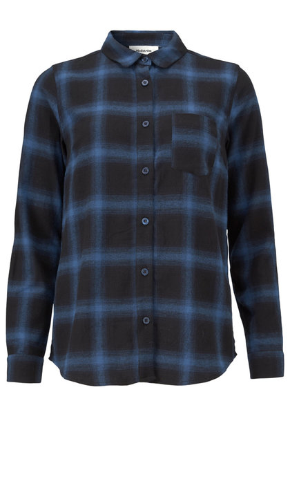 Modstrom Tempt Shirt Navy Check