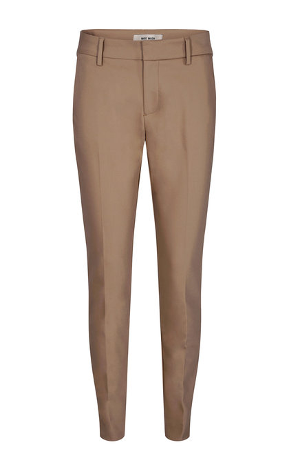 Mos Mosh Abbey Night Pants Sustainable Burro Camel