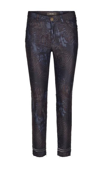 Mos Mosh Sumner Cool Printed Pants Mood Indigo