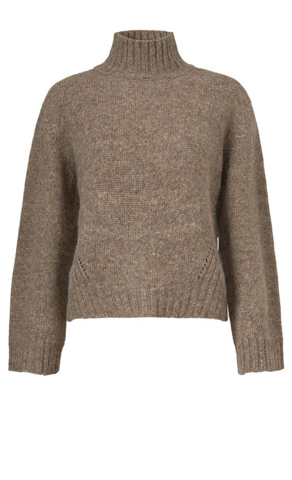 Modstrom Sanka T-Neck Camel Knit