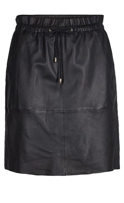 Mos Mosh Ellie Leather Skirt Black