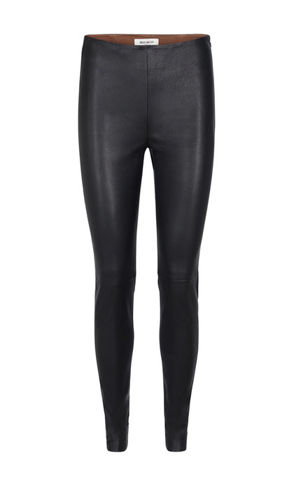 Mos Mosh Lucille Stretch Leather Legging Black