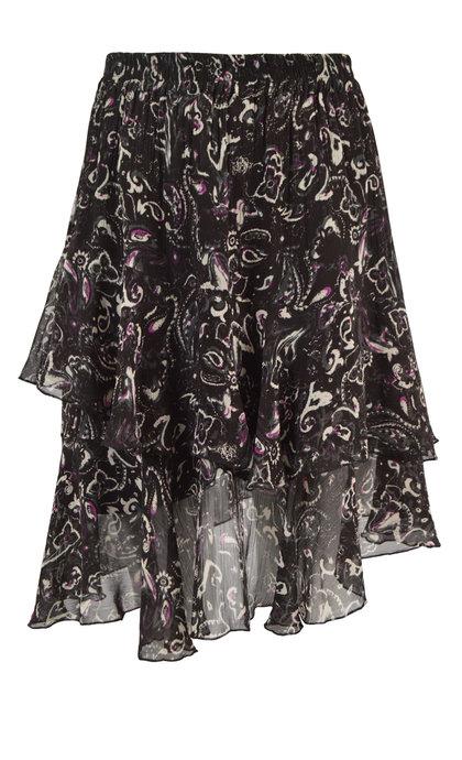 Second Female Sand Short Skirt Black