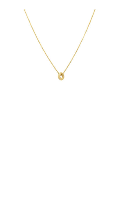 Anna + Nina Giza Necklace Silver Goldplated