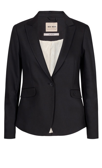 Mos Mosh Blake Night Blazer Sustainable Black