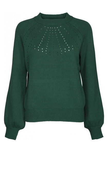 Minus Taia Knit Pullover Hunter Green