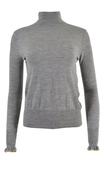 Sessun Merindad Cloud Grey Knit