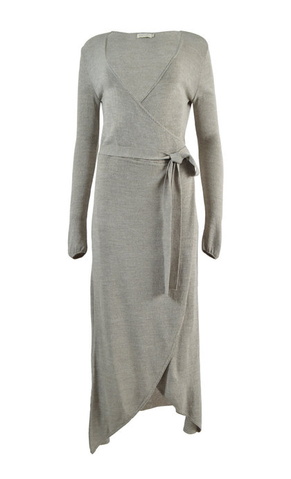 Moost Wanted Jasmine Knitted Wrap Dress Tender Taupe