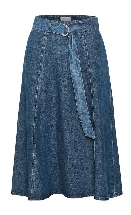 Gestuz Serala Skirt Denim Blue