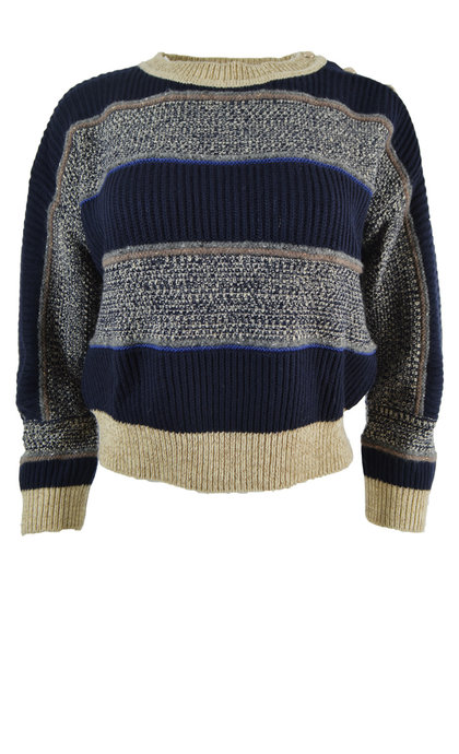 Sessun Onyx Whiblue Knit