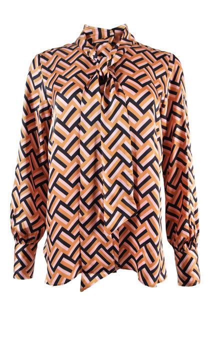Second Female Lori LS Pureed Pumpkin Shirt