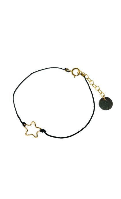 Blinckstar GF Small Star Black Cord