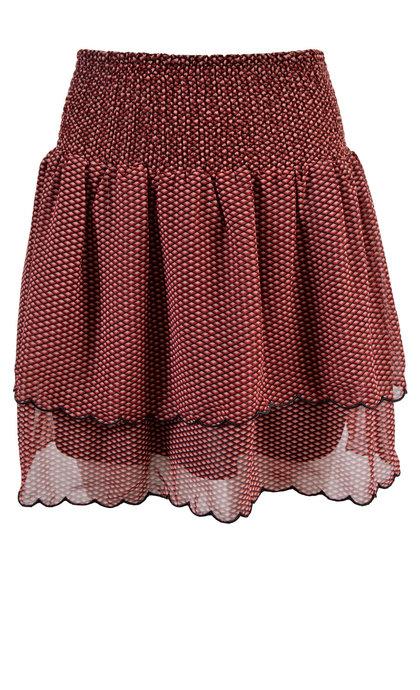 Second Female Tiny Mini Skirt Black