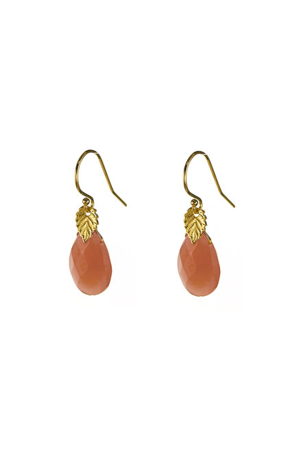 Blinckstar GF Hook Peach Drop Faceted GF Leaf Mini