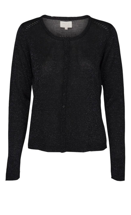 Minus New Laura Cardigan Black lurex