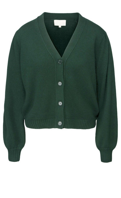 Minus Goldie Knit Cardigan Evening Green