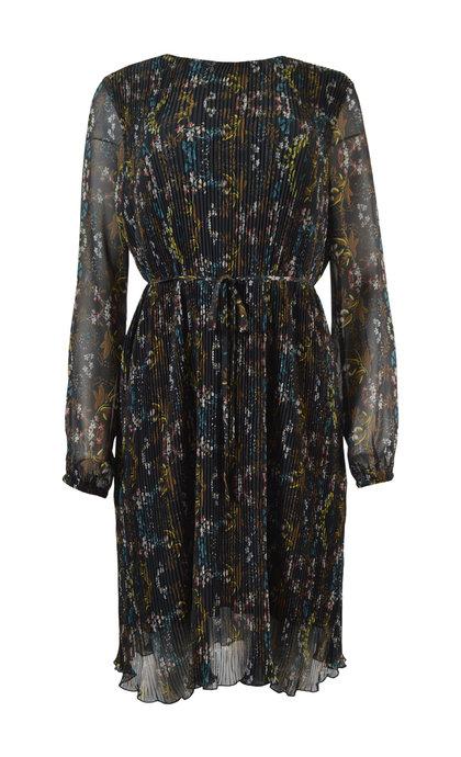 Minus Cynthia Dress Pleated Flower Print