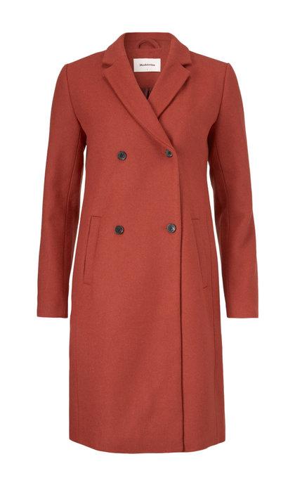 Modstrom Odelia Coat Brick Red