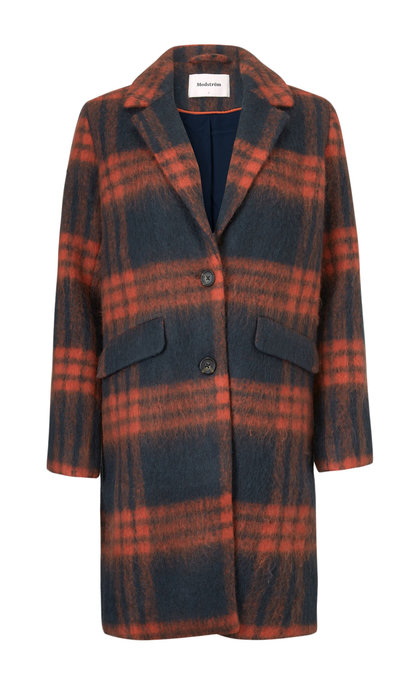 Modstrom Pacific Coat Navy Check