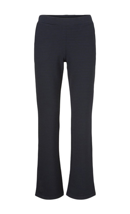 Modstrom Seana Pants Navy Gingham Check