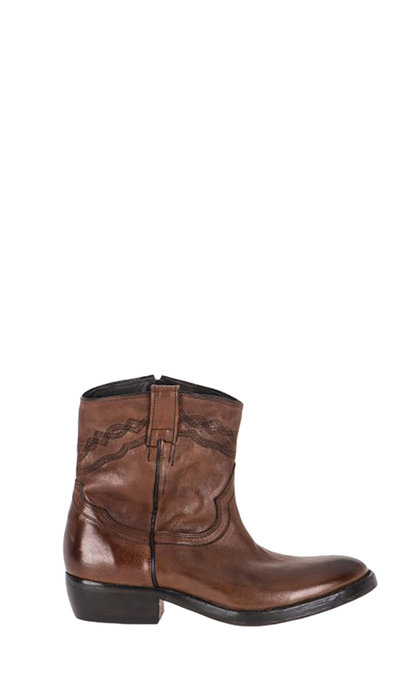 Catarina Martins Nomad Leather Cognac Boots