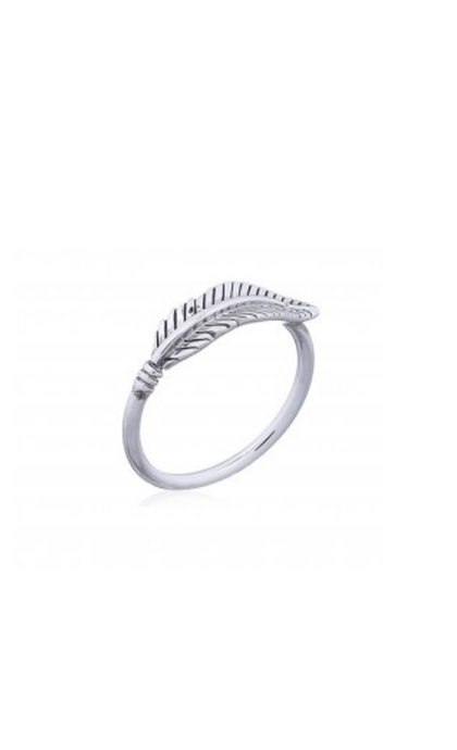 Blinckstar 925 Feather Ring