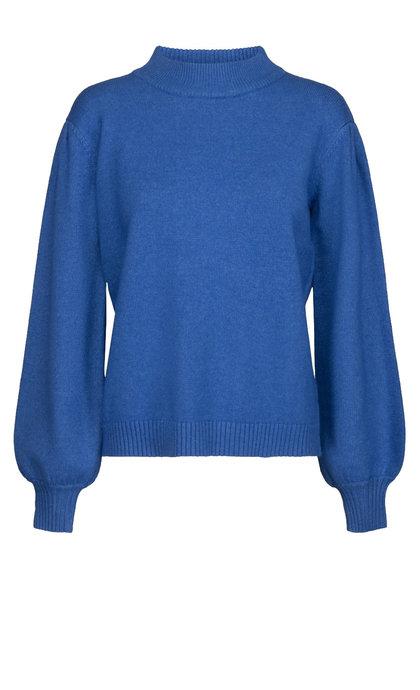 Minus Lola Knit Pullover Blue Bay