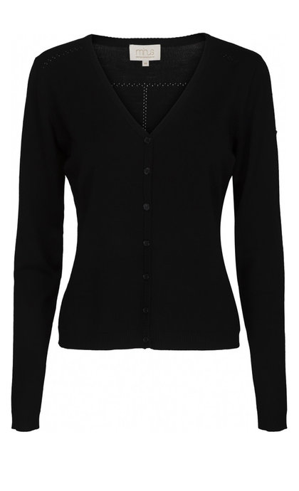 Minus New Laura V-Neck Cardigan Black