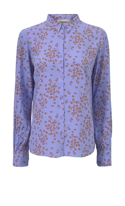 Modstrom Anthony Print Shirt Flower Spread