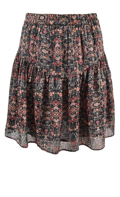 Second Female Signe MW Short Skirt Black