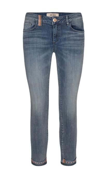 Mos Mosh Sumner Ida Troks Jeans Blue Cropped