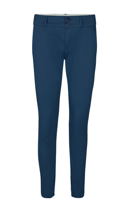 Mos Mosh Abbey Cole Pant Ankle Dark Blue