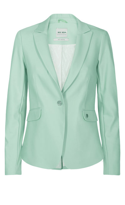 Mos Mosh Blake Night Blazer Sustainable Mint Haze