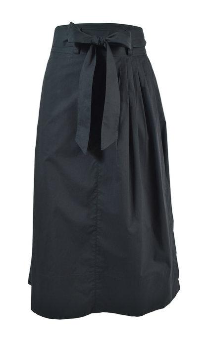 Second Female Phoebe HW Wrap Skirt Black