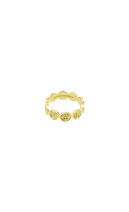 Wildthings Collectables Mintage Ring Goldplated