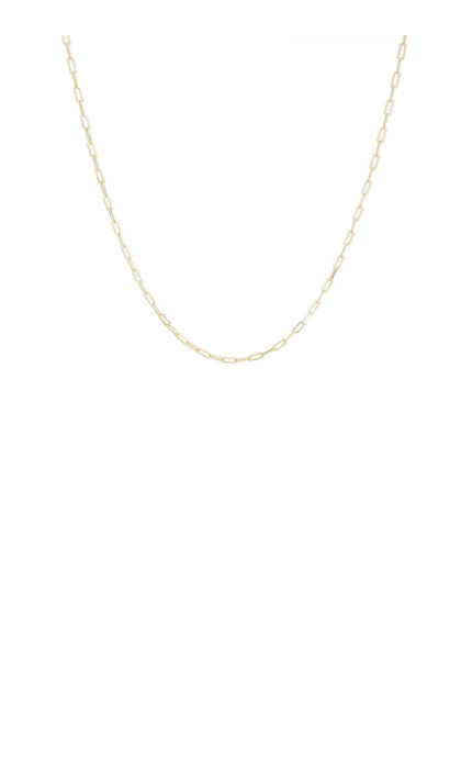 Wildthings Collectables Long Round Necklace Goldplated (50cm)