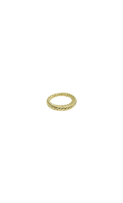 Wildthings Collectables Twisted Pinky Ring Goldplated