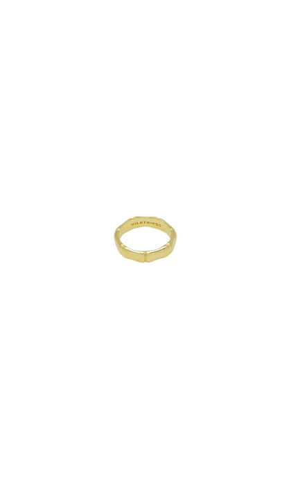 Wildthings Collectables Bamboo Ring Goldplated