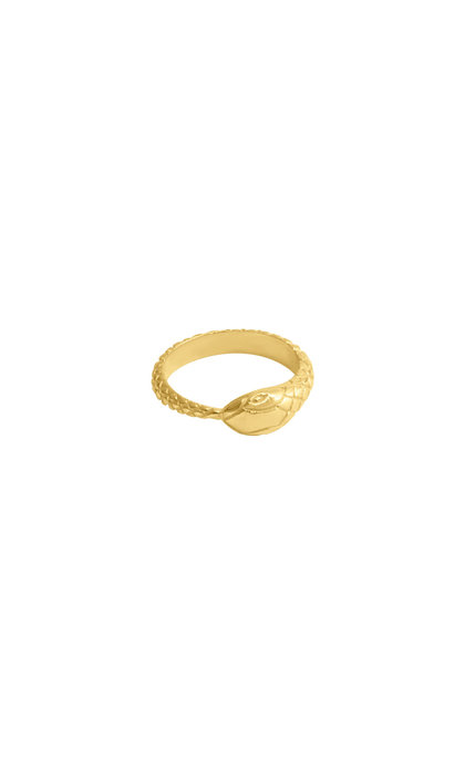 Wildthings Collectables Snake Ring Goldplated