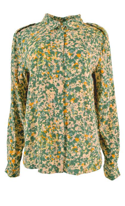 Minus Monja Shirt Camouflage Print
