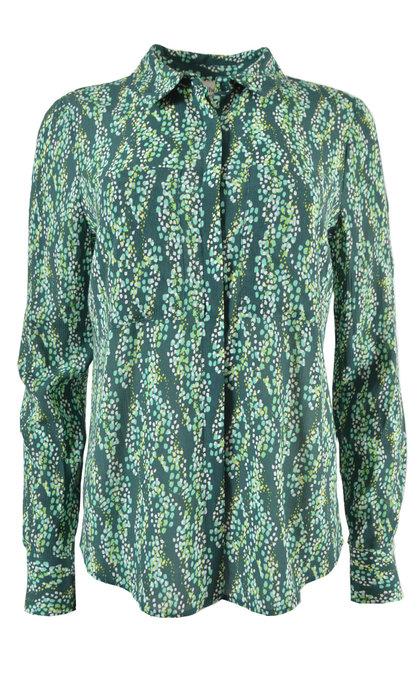 Another Label Dreiser Snake Shirt l / s Sea Moss Snake