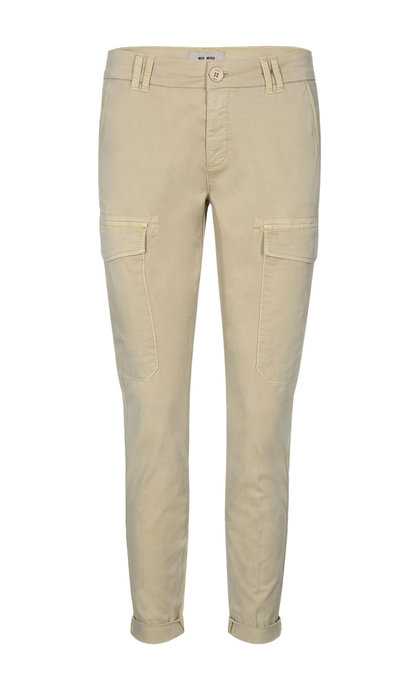 Mos Mosh Abbey Paper Cargo Pant 135 Safari Regular
