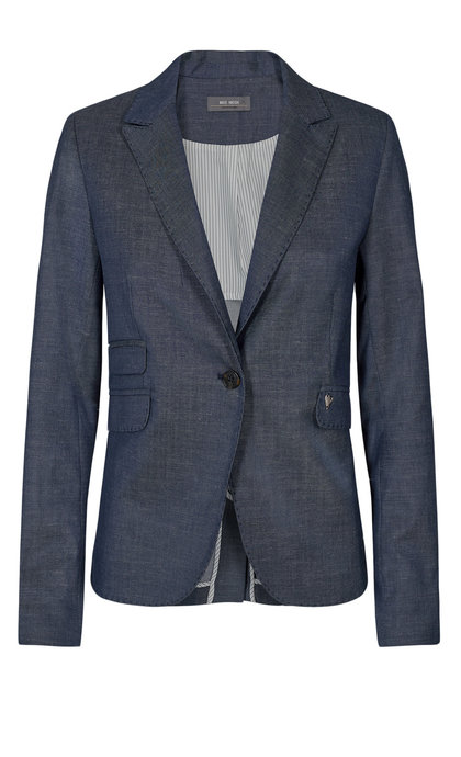Mos Mosh Blake Marly Blazer Dark Blue