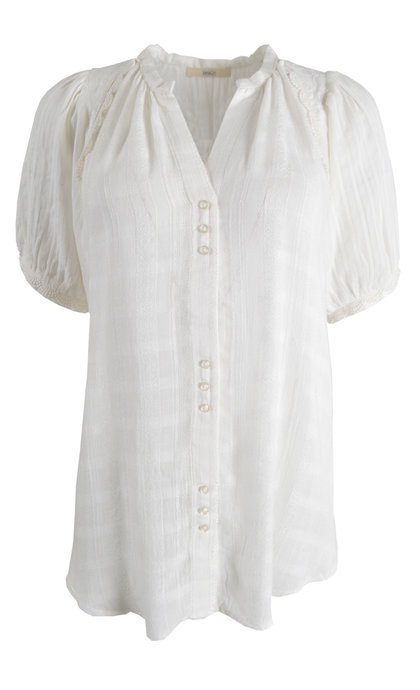 Another Label Ronsin Shirt s s Off White Fabriq
