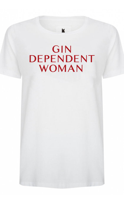 Blake Seven Gin Dependent Woman White