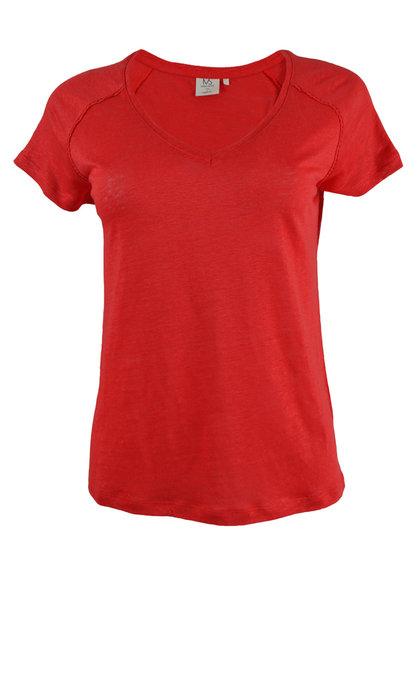 Marie Sixtine Caro T-shirt Grenat
